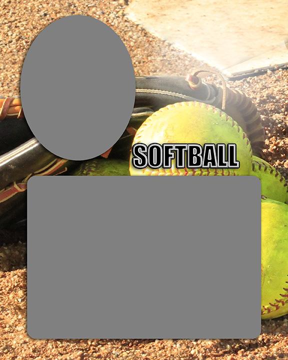 Sports Baseball Specific Softball Memory Mate Sports Template
