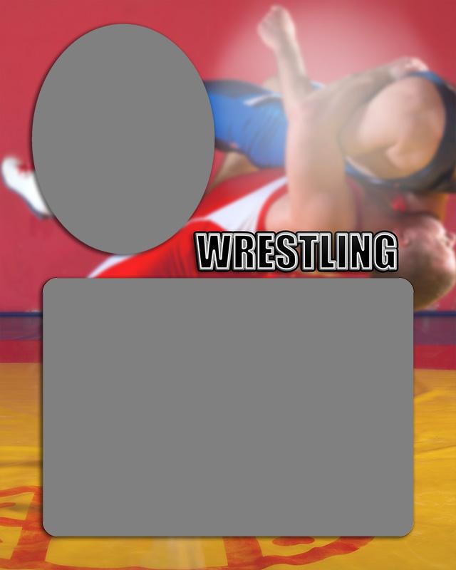 Wrestling Sports Memory Mate
