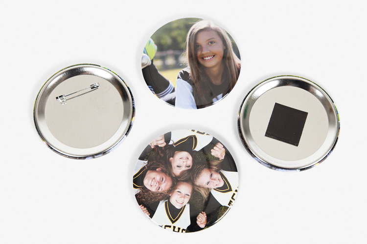 Photo Buttons & Magnets