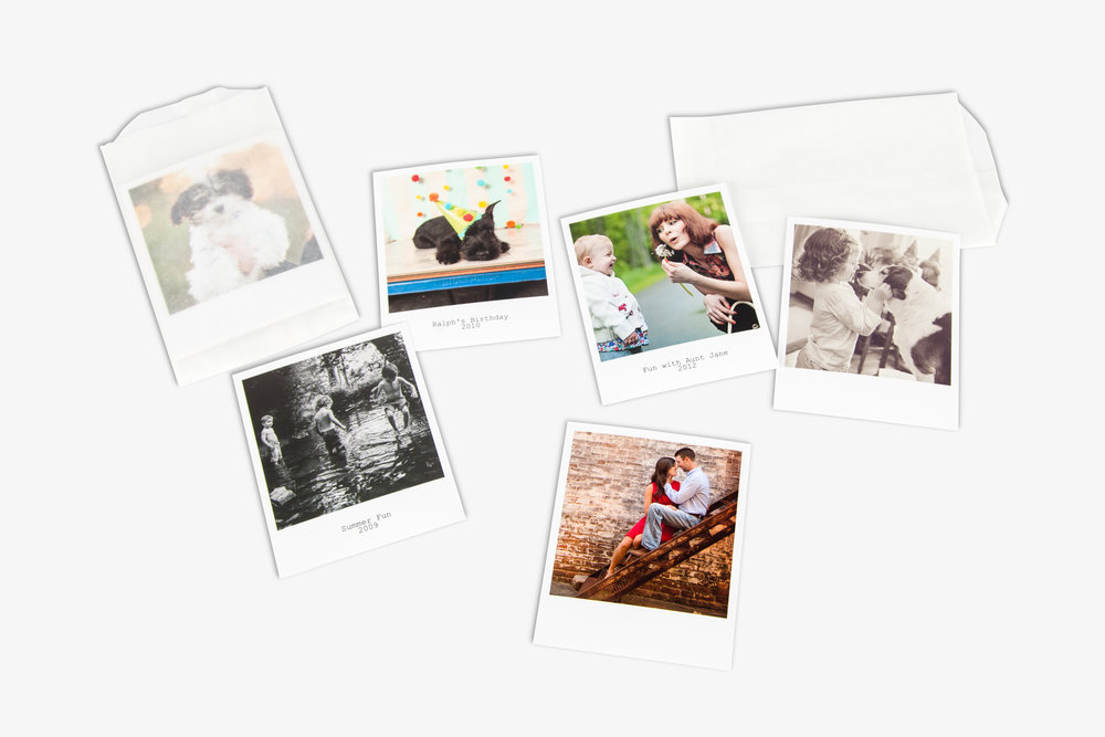FujiFilm Retro Polaroid Prints