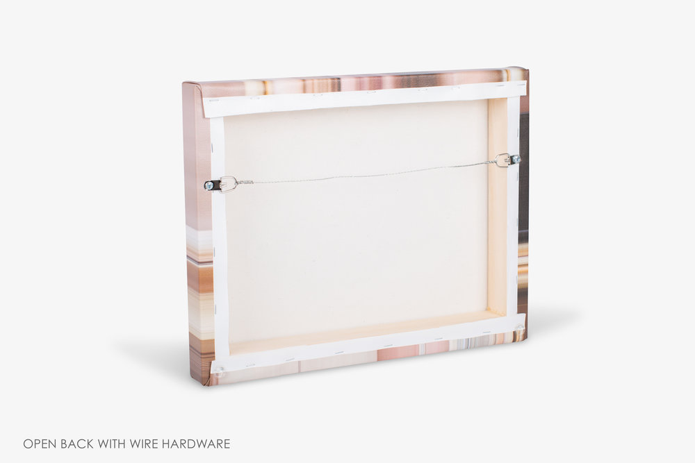 Gallery Wrapped Canvas Wire Hardware