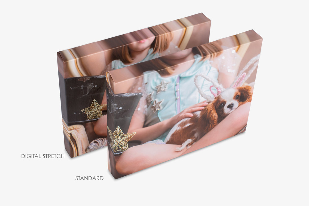Digitally Stretched Gallery Wrapped Canvas