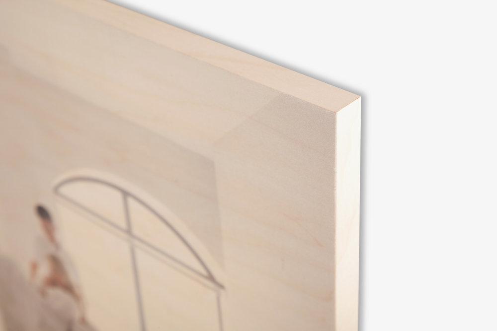 Direct to Wood Print Corner