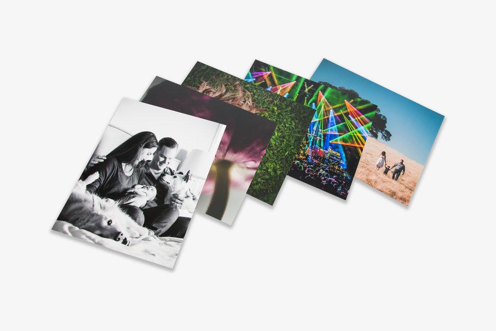 Fuji Test Prints