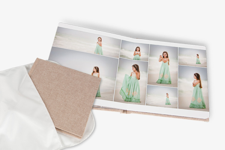 Indie Photo Book - Layflat, gutterless handmade album