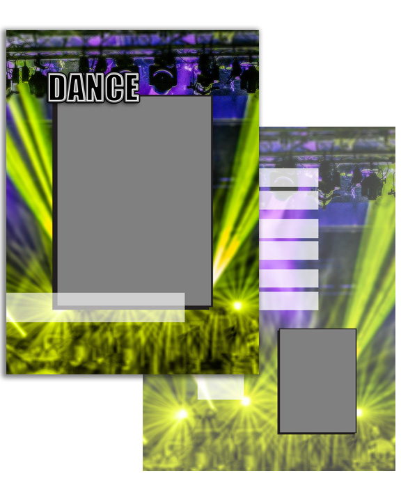 Sports Specific Dance Press Printed Trading Cards