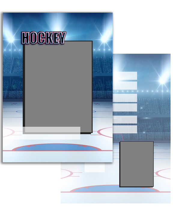 Sports Specific Hockey Press Printed Trading Cards
