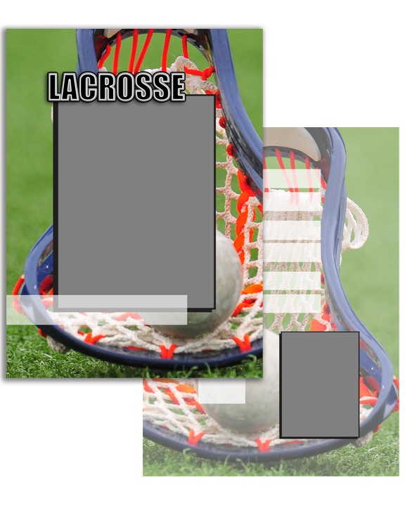 Sports Specific Lacrosse Press Printed Trading Cards