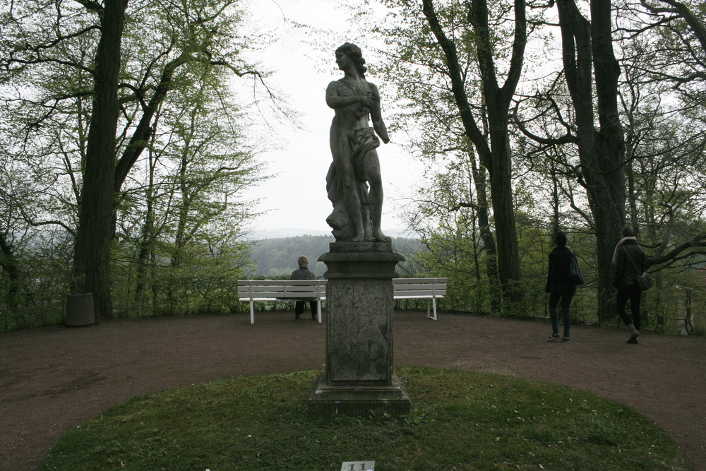Lichtenwalde Castle Garden