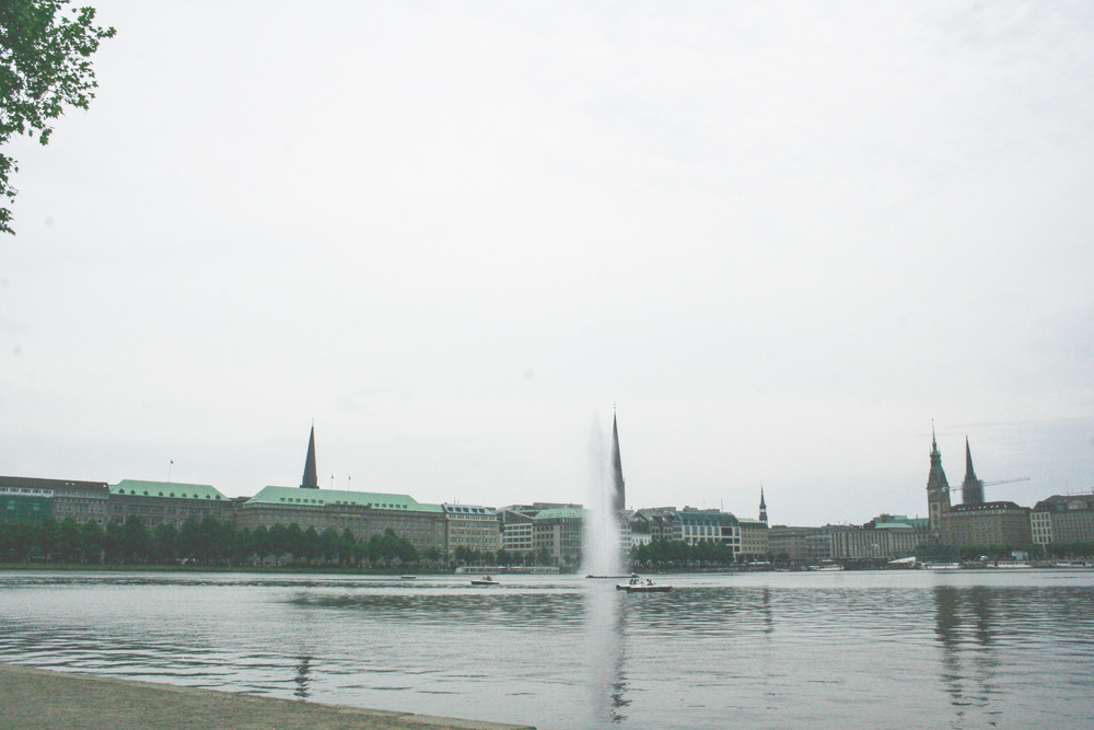 Downtown Hamburg