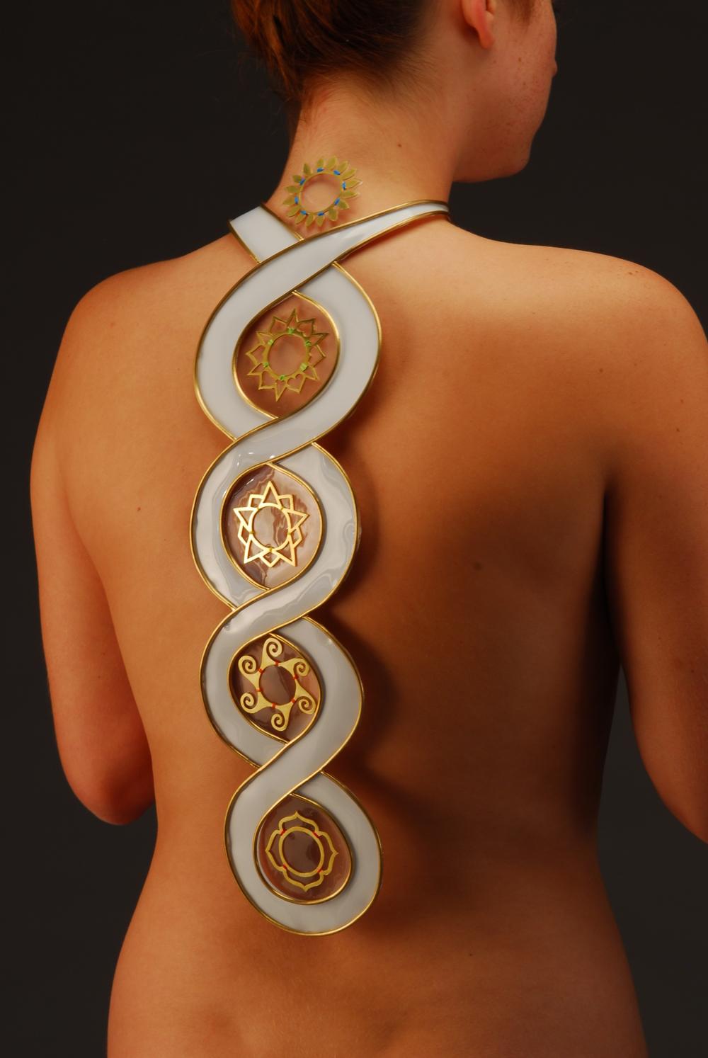 kundalini back piece (detail)