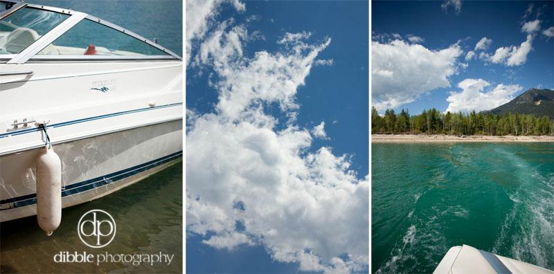 Boat on Kinbasket Lake