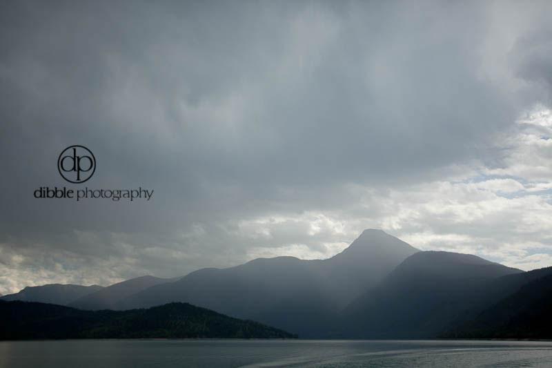 Stormy Kinbasket Lake