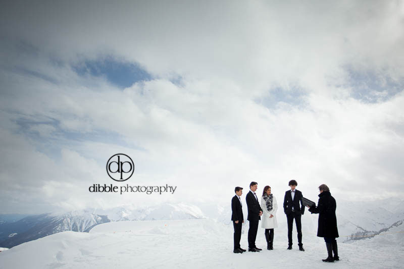 kicking horse family elopement
