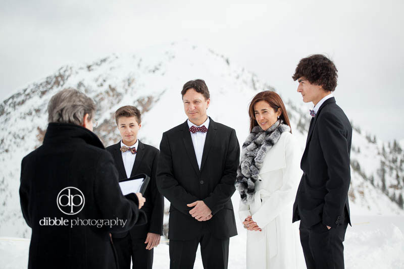 kicking horse winter elopement