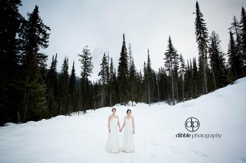 winter elopement in the rockies
