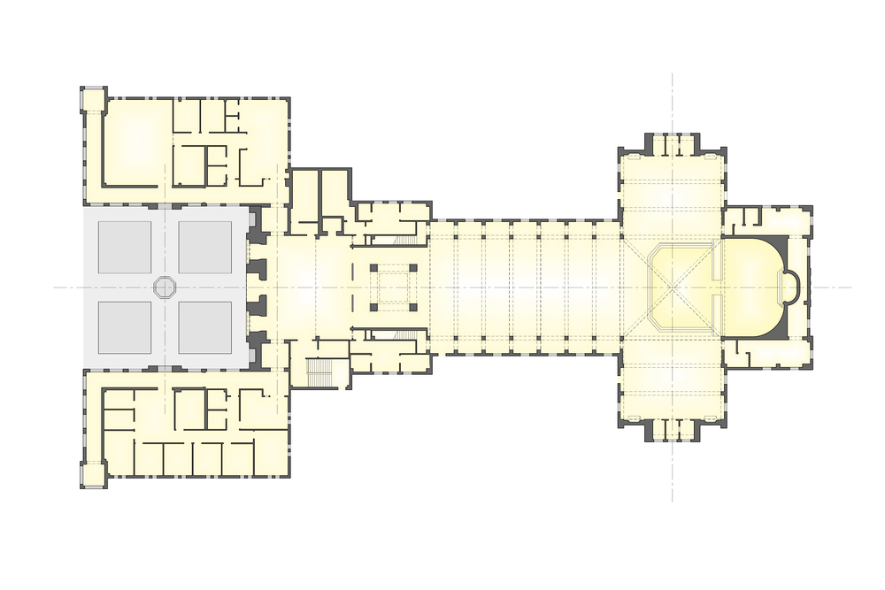 St james catholic church o 39 brien for Floor plan church