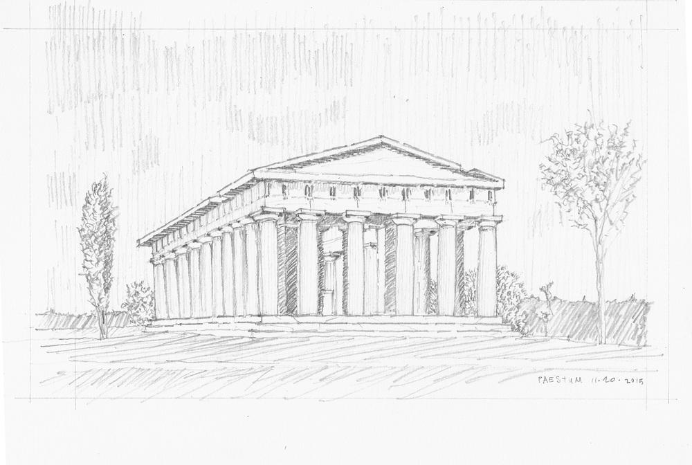 Paestum, November 2015