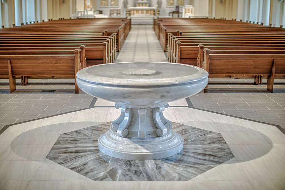 BAPTISMAL FONTS
