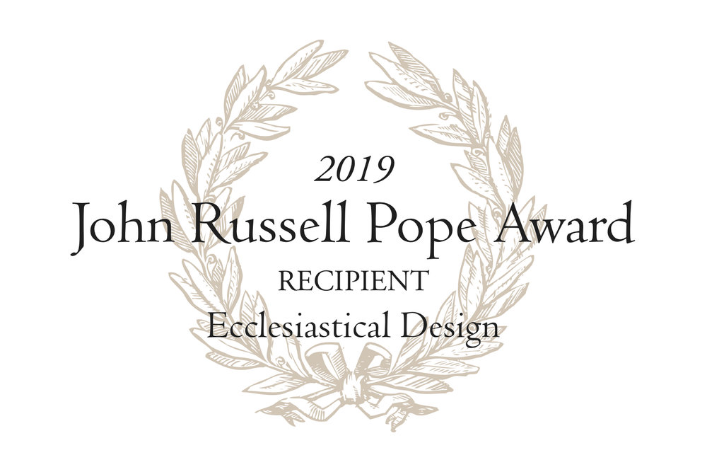 Holy Name of Jesus Cathedral Awarded 2019 John Russell Pope Award - Institute of Classical Architecture, April 2019