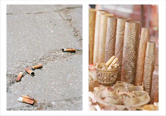 Mortar Shells and Cigarettes