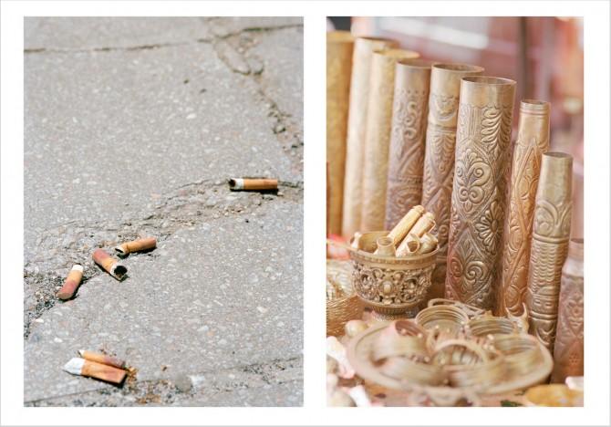 Mortar Shells and Cigarettes