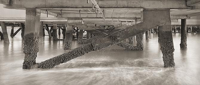 Under Devonport Wharf