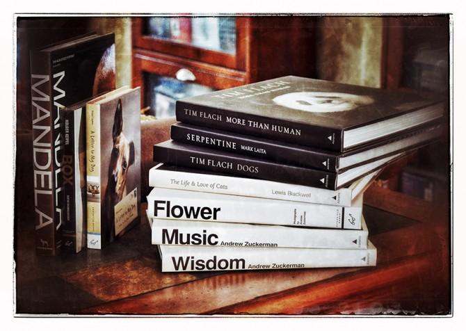 PQB book stack