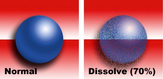 03 - Normal & Dissolve