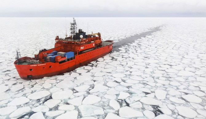 Ch-Our-Work-Winner---Alison-Kohout,-The-Aurora-Australis-sailing-through-Antarctic-sea-ice
