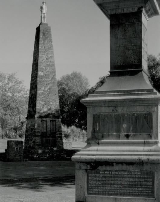 133 - Aberhart - Maori War Memorial, Moutua Gardens, Whanganui, 3 November 2011 (Custom)