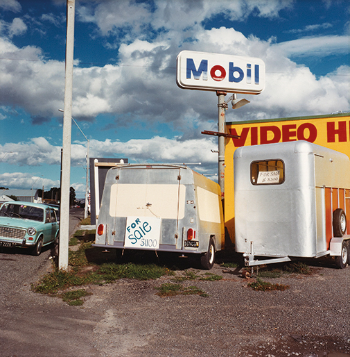 Mary Macpherson, Featherston, 1986, from the series 'Urban landscapes'