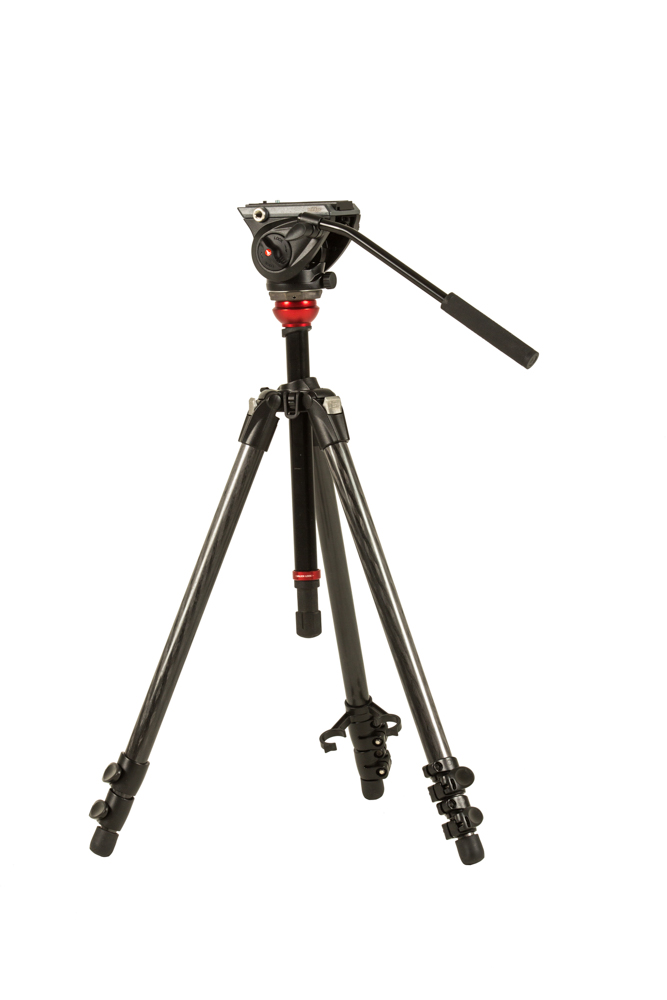 Manfrotto MVH500AH Fluid Head & 755XB Tripod