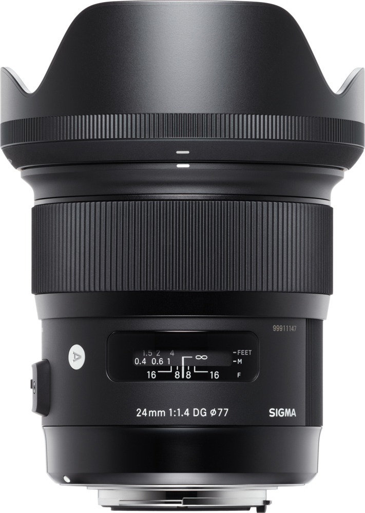 Sigma 24mm f/1.4 Art lens