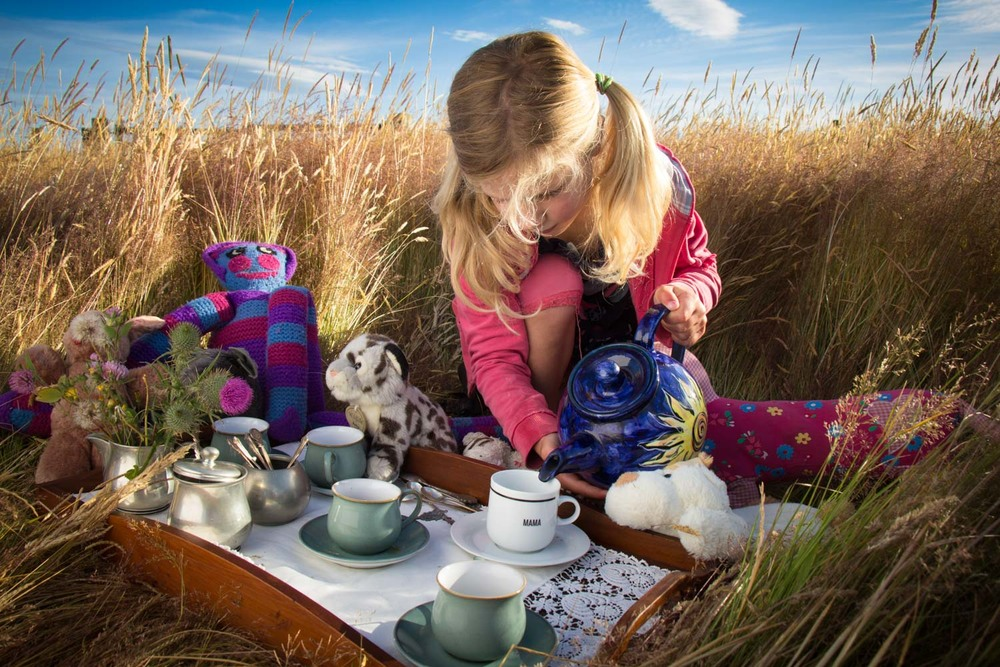Winner: Animal Tea Party by Edith Leigh