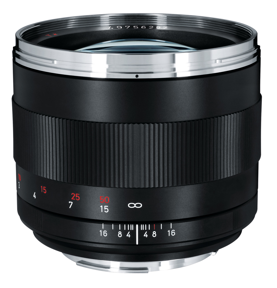 Zeiss Telephoto 85mm f/1.4 Planar T* lens