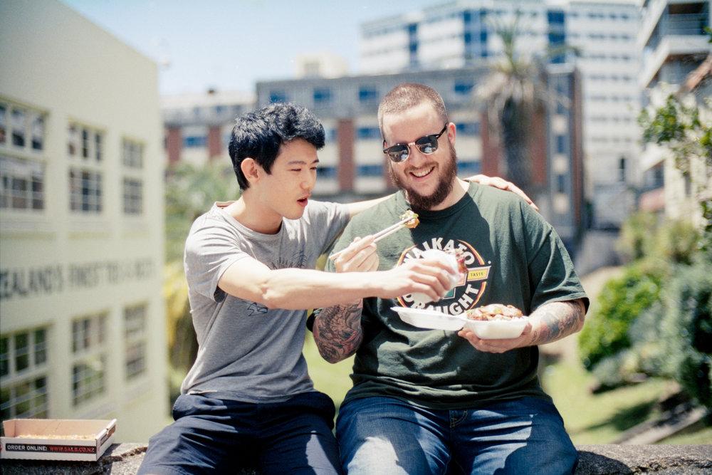 Richard Wong, Nikon F, Nikon AF Nikkor 50mm f/1.4D lens, Kodak Portra 400 film