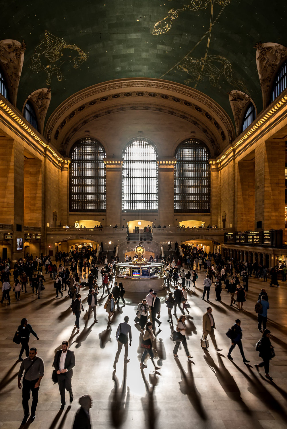 Travel category winner, Javan Ng, Morning rush hour at Grand Central Terminal in New York