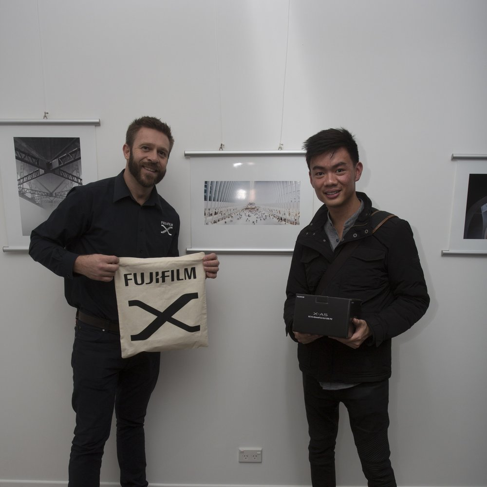 Ira Swales and Benny Tan, awarded second place in Architecture