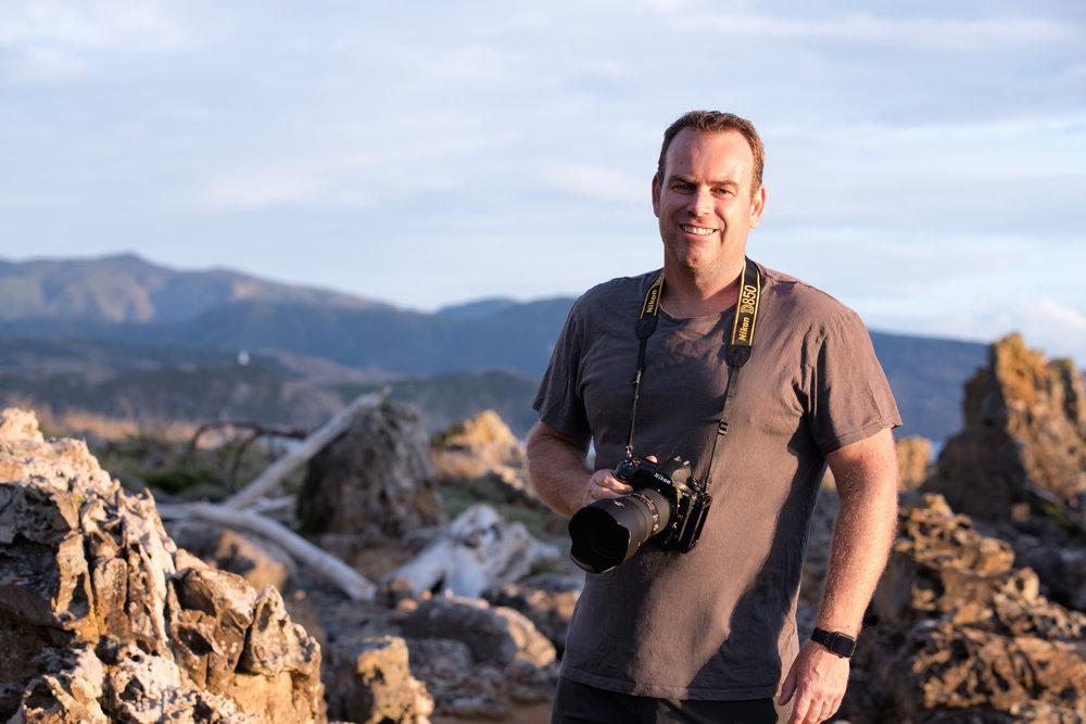 Mark Gee, astrophotographer and Hutt2019 speaker