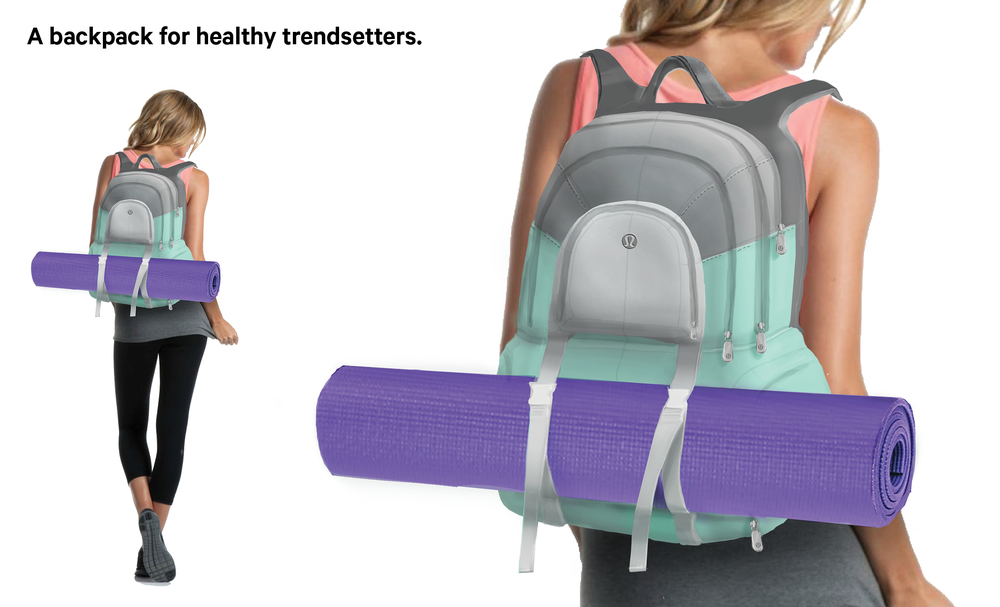 Image result for yoga backpack