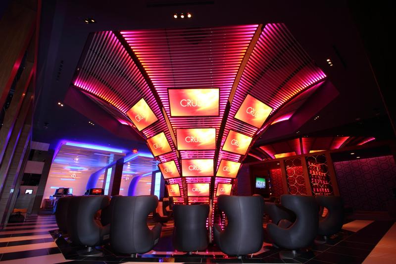 Crush - Teen Club at Atlantis & Entertainment Venues u2014 Focus Lighting - Architectural Lighting Design