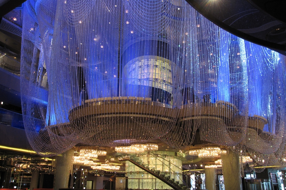 Chandelier at the Cosmopolitan