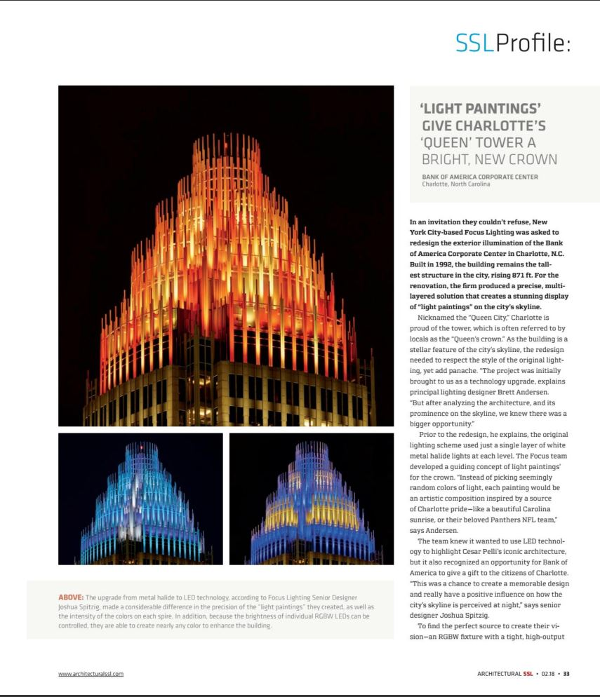 Arch Ssl Light Paintings Give Charlottes Queen Tower A Bright