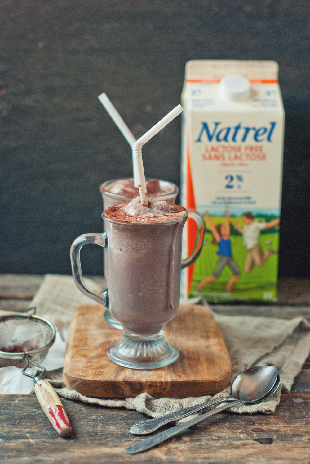 Social Influence Strategy with Co-Creators : we invited a bunch of amazing food enthusiasts to create lactose free recipe. The chocolate milkshake was created by  The Gouda Life  for the Lactose Free Campaign.