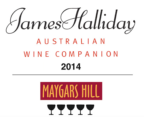 5 Star rating in James Halliday's 2014 Wine Companion • 95 points for the 2012 Shiraz   • 95 points for the 2012 Reserve Cabernet 5 Glasses awarded to each and no price rise!