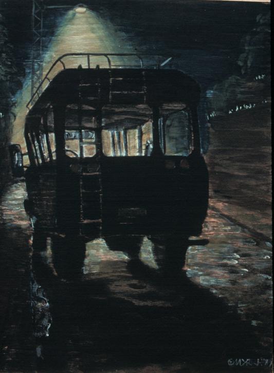Bluebird Bus