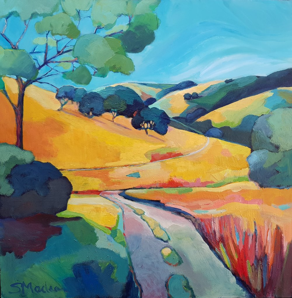 """Into the Backcountry 24""""x24"""" Sold"""