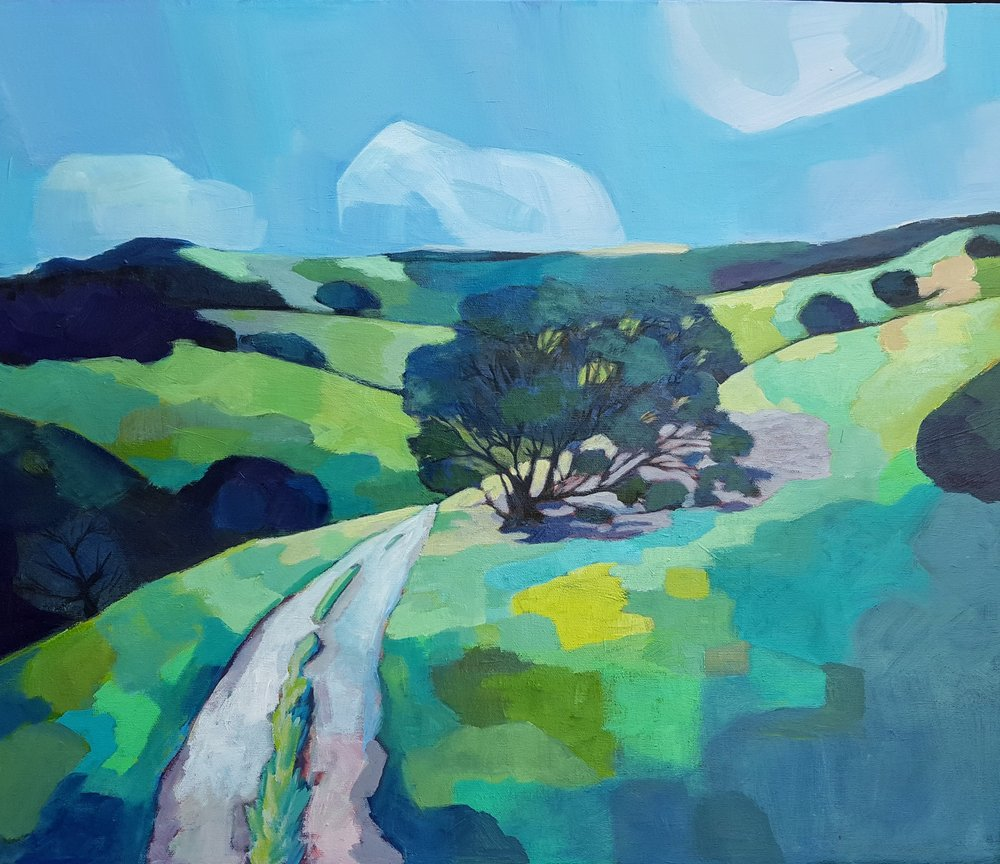 "Windy Hill Oak 24""x20"" SOLD"