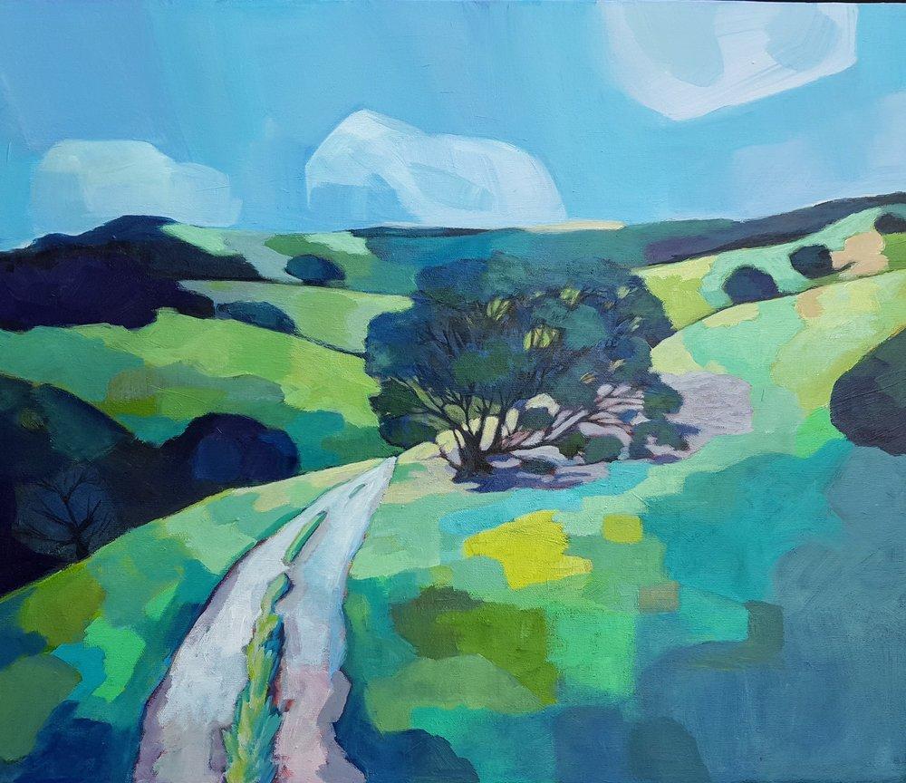 """Windy Hill Oak 24""""x20"""" SOLD"""